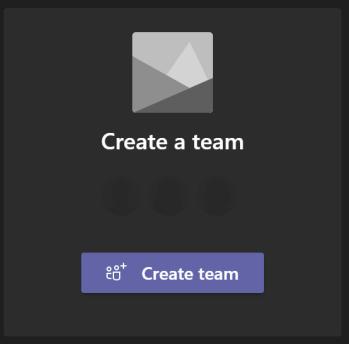 CreateTeam